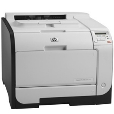 Impresora Hp Laser Color Laserjet Pro 400 M451dn A4  /  20ppm  /  128mb /  Usb /  Red /  Duplex CE95