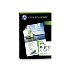 PACK PAPEL + CARTUCHOS HP 920XL