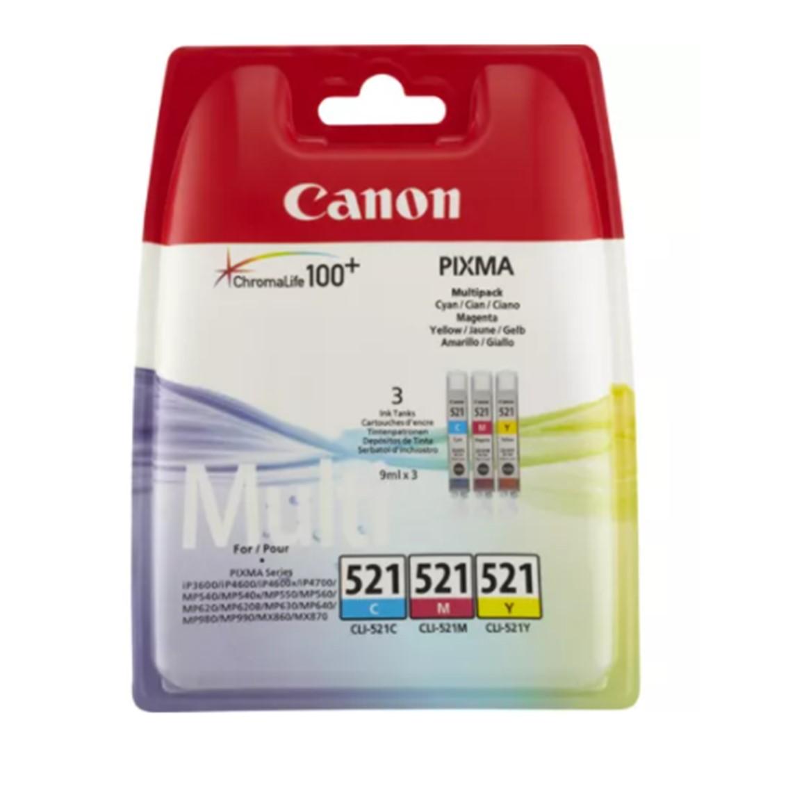 MULTIPACK CANON CLI-521 PIXMA 3600 4600