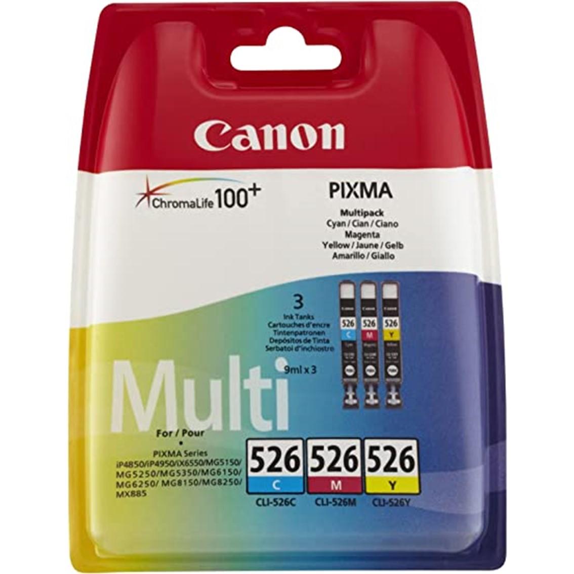 MULTIPACK CANON CLI-526 MG5150 MG5250 MG6150