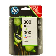 MULTIPACK TINTA HP 300 CN637EE NEGRO+TRICOLOR