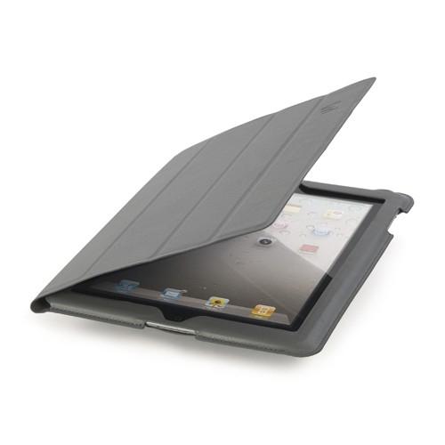 Funda Tablet Tucano Ipad Cuero Gris CORNICEG
