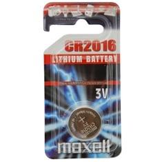 Blister Maxell Pila Boton Litio Cr2016 3v  /  1 Unidad CR2016-B1MXL