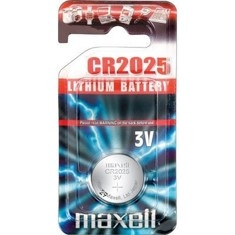 Blister Maxell Pila Boton Litio Cr2025 3v  /  Unidad CR2025-B1MXL