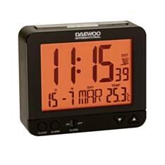 Reloj Despertador Daewoo Dcd-200b Negro DCD-200B