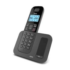 Telefono Inalambrico Dect Aeg Voxtel D-500 Display Retoiluminado 1.6 Pulgadas Lcd, Negro DECTLINED50