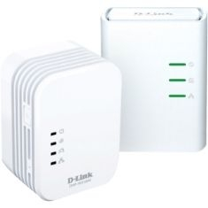 Kit 2 Powerline 500m Home Av Wirelessn Mini Extender,qos,c DHP-W311AV