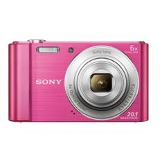 Camara Digital Sony Kw810p 20.1mp Zo 6x Video Hd Rosa DSCW810P