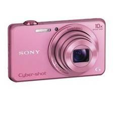 Camara Sony Dscwx220p 18.2 Mp Wifi Nfc Full Hd 2.7 Pulgadas  Zo 10x Rosa DSCWX220P