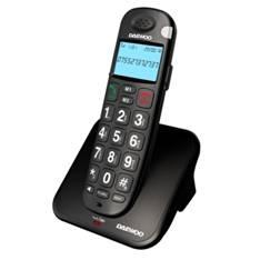 Telefono Inalambrico Dect Daewoo Dtd-7100b  /  Manos Libres  /  Pantalla Lcd  /  Teclas Grandes  /