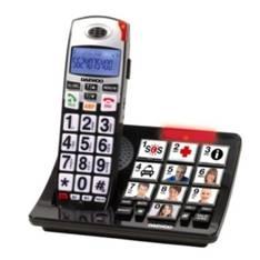 Telefono Inalambrico Dect Daewoo Dtd-7500  /  Manos Libres  /  Pantalla Lcd  /  Teclas Grandes  /  N