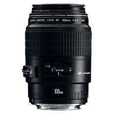 Objetivo Canon Ef 100mm F / 2.8 Usm Macro EF100F2.8USMMACRO