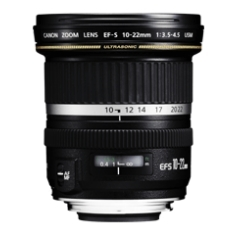 Objetivo Canon Ef-s 10-22mm 1:3.5-4.5 Usm F /  Eos Series EFS10-22MM3.5USM