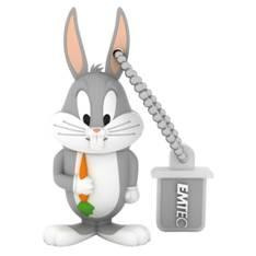 Memoria Usb 3d Llavero 8gb Emtec L104 Lt Bugs Bunny EMTEC8GBUGSBUNNY