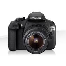 Camara Digital Reflex Canon Eos 1200d 18-55mm Is Egp /  Cmos /  18mp /  Digic 4 /  9 Puntos Enfoque