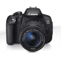 Camara Digital Reflex Canon Eos 700d 18-135mm Is Stm /  Cmos /  18mp /  Digic 5 /  Tactil EOS700D+18