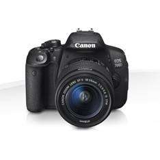 Camara Digital Reflex Canon Eos 700d 18-55mm Is Stm /  Cmos /  18mp /  Digic 5 /  Tactil EOS700D+18-