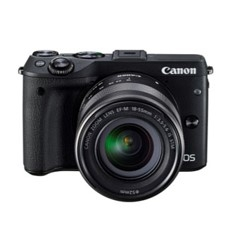 Camara Digital Reflex Canon Eos M3 Ef M 18-55mm Is Stm Cmos /  24.2mp /  Digic 6 /  Tactil EOSM3+EF-