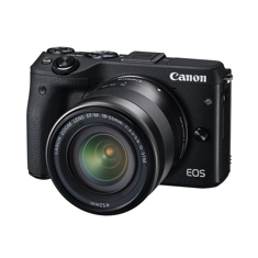Camara Digital Reflex Canon Eos M3 Ef M 18-55mm Is Stm Cmos /  24.2mp /  Digic 6 /  Tactil /  Kit EO