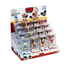 Expositor Disney Mouse Tribe 16 Unidades Usb 8gb 2.0 EXPO-DISNEYMOUSE