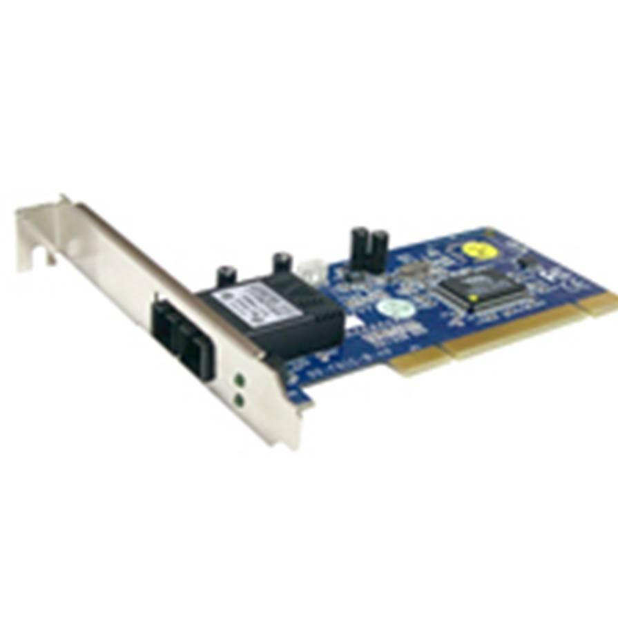 Tarjeta De Red Ethernet Pci 100 Mbps Fibra Optica Tipo Sc FE100C