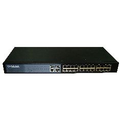 Switch 24 Ptos 19 Pulgadas 10 / 100  + 2 Ptos Combo 1000 Tx Sfp Gestion Web Ovislink FSH2402GW