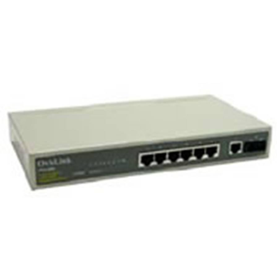 Switch  7 Puertos 10 Pulgadas Rj45 10 / 100  +  1 Puerto Fibra Optica 100mbps Tipo Sc FSH8FC