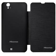 Funda  /  Cover Delantera Y Trasera Para Smartphone Hisense Hsu-970 Negra FUNDAHSU970N