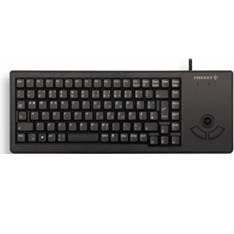 Teclado Cherry Xs Trackball G84-5400  Mouse Integrado Compacto, Negro G84-5400