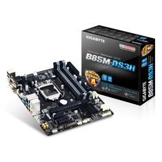 Placa Base Gigabyte Intel B85m-ds3h Lga 1150 Ddr3x4 1600mhz Vga Dvi Hdmi Micro Atx GA-B85M-DS3H