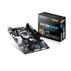 Placa Base Gigabyte Intel H81m-hd2 Lga1150 Ddr3x2 1600mhz Vga Hdmi Micro Atx GA-H81M-HD2