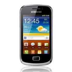 Telefono Movil Smartphone Samsung Galaxy Mini 2 S6500 3.2 Pulgadas Pulgadas /  3mp /  4gb /  Amarill