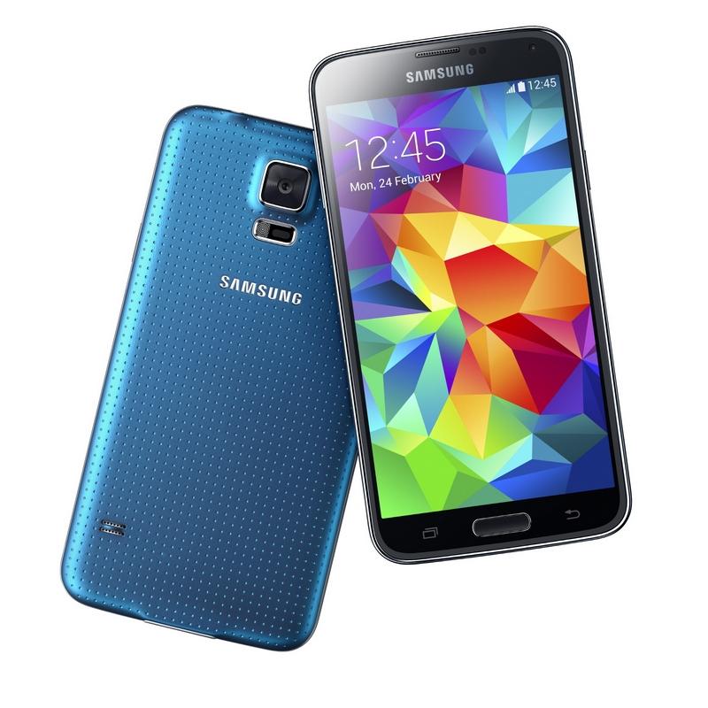 Telefono Movil Smartphone Samsung Galaxy S5 16gb Azul Libre GALAXYS5AZUL