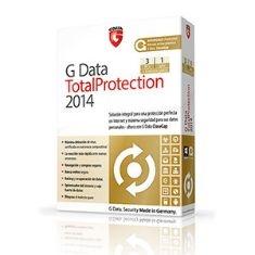 Antivirus G Data Total Protection 2014 3 Usuarios 1 Año GDATATOTAL14X3