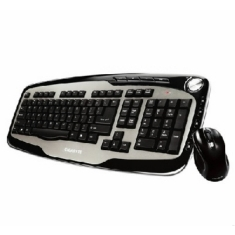 Teclado + Mouse Gigabyte Usb Wireless Inalambrico Multimedia