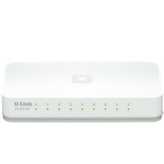 Switch 8 Puertos 10 / 100 Mb Soho D-link GO-SW-8E
