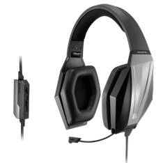 Auriculares Gigabyte Thunder H3x Gaming Microfono Retractil, 2m, Negro GP-THUNDERH3X