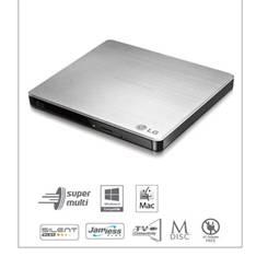Regrabadora Lg Dvd Rw Gp57es40, Slim, Externa Usb GP57ES40
