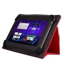 Funda Book Universal Para Tablet 9.7 Pulgadas-10.1 Pulgadas Pulgadas Green Go Semi Rigida, Rojo GSM0