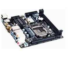 PLACA BASE GIGABYTE GA-H87N-WIFI INTEL I7 LGA 1150 WIFI DDR3 DVI 2HDMI  USB 3.0  MINI ITX