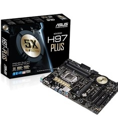 Placa Base Asus Intel H97-plus Socket 1150 Ddr3x4 1600mhz 32gb Hdmi Atx H97-PLUS