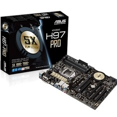 Placa Base Asus Intel H97-pro Socket 1150 Ddr3x4 1600mhz 32gb Hdmi Atx H97-PRO