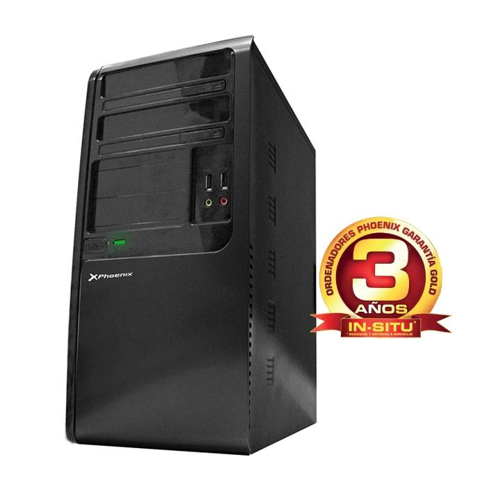 Ordenador Phoenix Home Intel Celeron, 4gb Ddr3, 500gb, Rw HOME-TR315