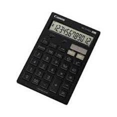 Calculadora Canon Sobremesa Hs-121tga Negra HS-121TGAB