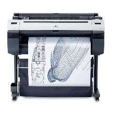 Plotter Canon Ipf755 A0 36 /  2400ppp /  256mb /  Usb /  Red /  Pedestal IPF755