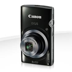 Camara Digital Canon Ixus 160 Negra 20mp Zoom 16x /  Zo 8x /  2.7 Pulgadas Litio /   Videos Hd /  Mo