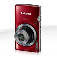 Camara Digital Canon Ixus 160 Roja 20mp Zoom 16x /  Zo 8x /  2.7 Pulgadas Litio /   Videos Hd /  Mod