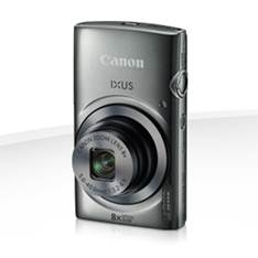 Camara Digital Canon Ixus 160 Plata 20mp Zoom 16x /  Zo 8x /  2.7 Pulgadas Litio /   Videos Hd /  Mo