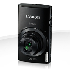 Camara Digital Canon Ixus 170 Negra 20mp Zoom 24x /  Zo 12x /  2.7 Pulgadas Litio /  Videos Hd /  Mo