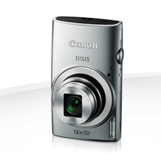 Camara Digital Canon Ixus 170 Plata 20mp Zoom 24x /  Zo 12x /  2.7 Pulgadas Litio /  Videos Hd /  Mo